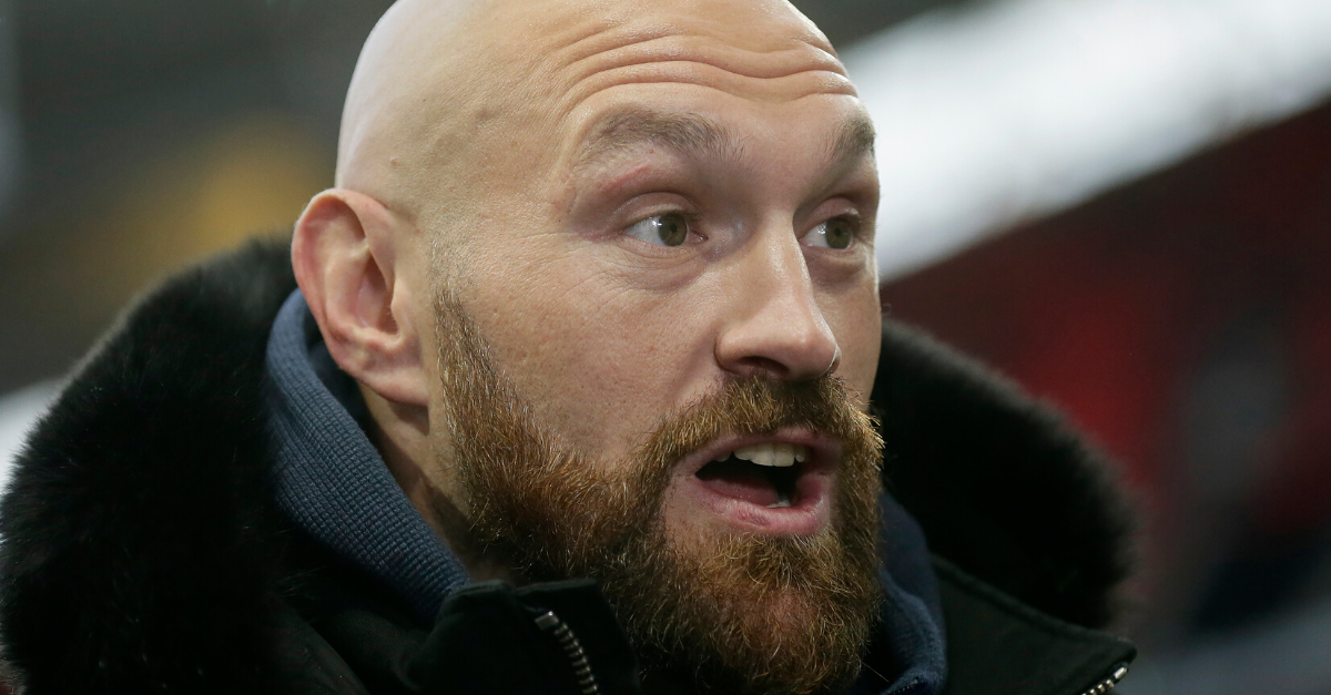 Tyson Fury Masturbates 7 Times a Day in Preparation for Boxing Match