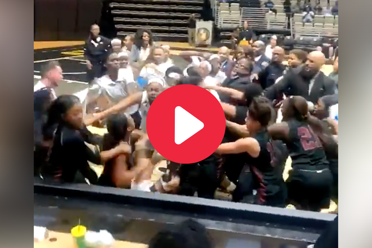 Ugly Postgame Brawl Sent Girl Players Flying Into Scorer's Table