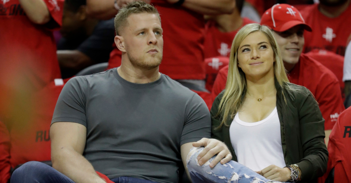 J.J. Watt's Picture-Perfect Marriage Makes Them a Sports Super Couple