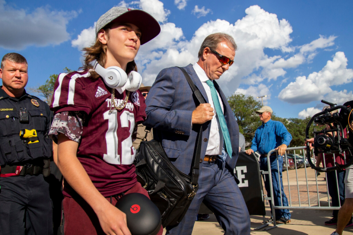 Jimbo Fisher's Oldest Son Ready to Start College Career