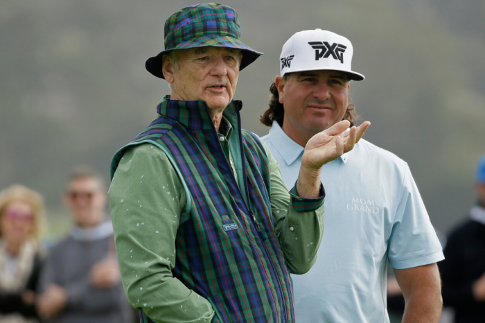 Bill Murray Takes Tequila Shot From Yelling Golf Fan