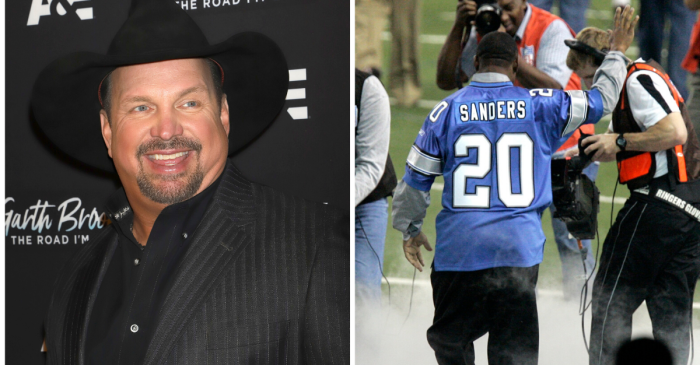 Fans Rip Garth Brooks, Thinking He Wore a Bernie Sanders Jersey