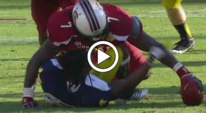 Jadeveon Clowney Owns College Football's Most Vicious Hit