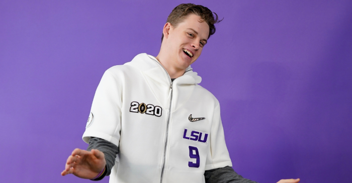 Joe Burrow and His Girlfriend Are The NFL's Next Power Couple