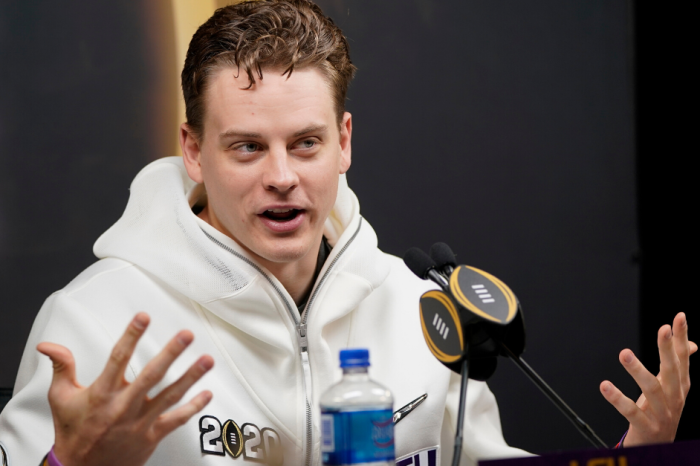 Joe Burrow's Tiny Hands Cause Controversy at NFL Combine