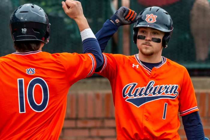 Auburn Outfielder's Historic Cycle is Only Start of Breakout Season
