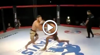 Fighter Knocked Out in 5 Seconds, Then Choked Out By Ref