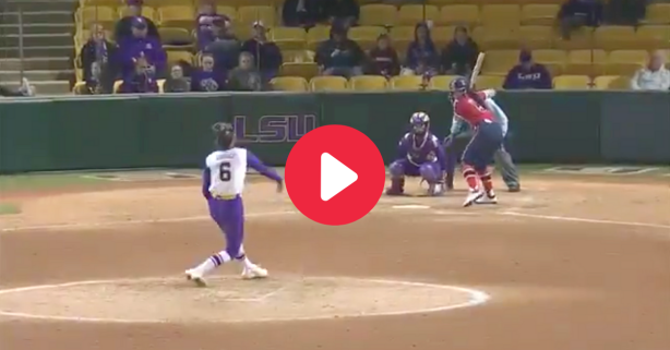 LSU Softball's 1st Perfect Game Blew Everyone Away