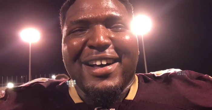 Texas A&M's 320-Pound Freshman Ready to Wreak Havoc