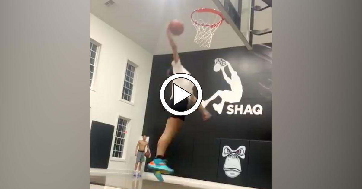 Shaq's 13-Year-Old Daughter is Almost Dunking