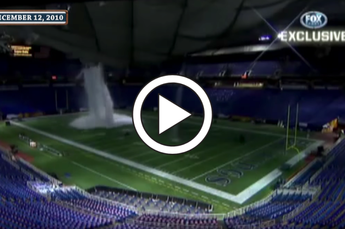 The Vikings' Stadium Collapsing Looked Like a Movie Scene