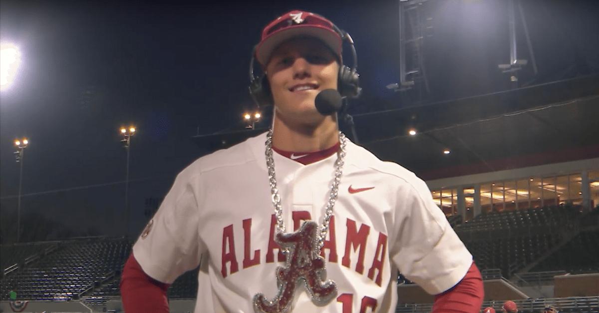Alabama's Canadian Slugger Putting Crimson Tide Baseball on the Map