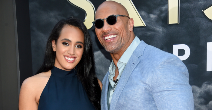 The Rock's 3 Daughters May Rival Their Dad's Stardom One Day