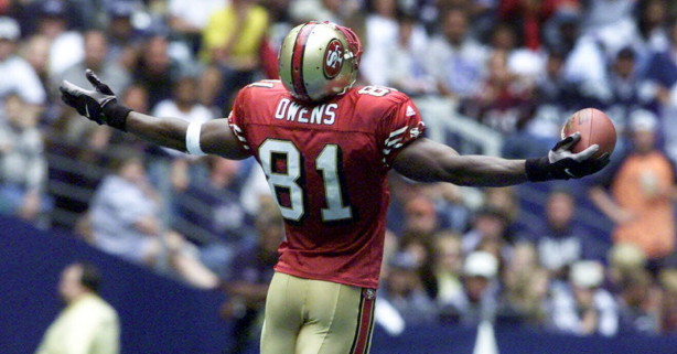 Terrell Owens' Dallas Star Celebration Was the Ultimate Disrespect