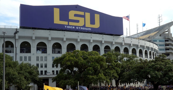 LSU Fans Stupidly Film Themselves Breaking Into Tiger Stadium