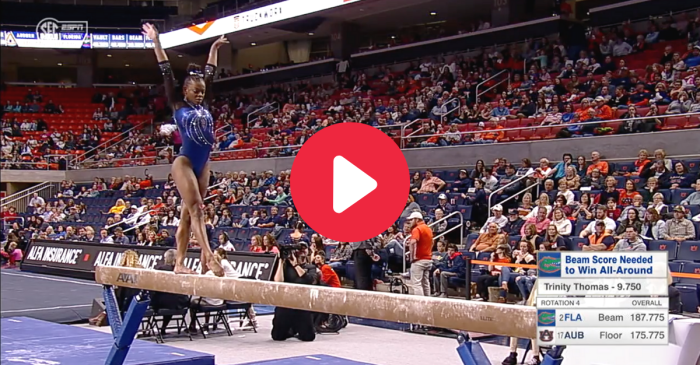 Florida Gymnast Makes Perfect 10s Look So Easy