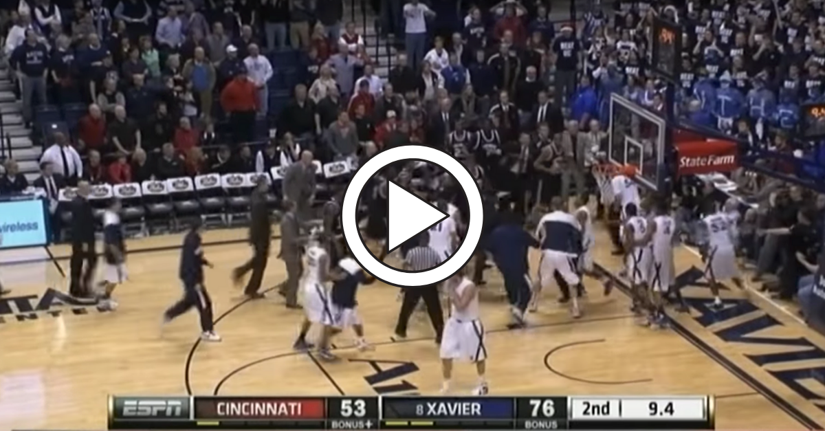Xavier-Cincinnati Fight