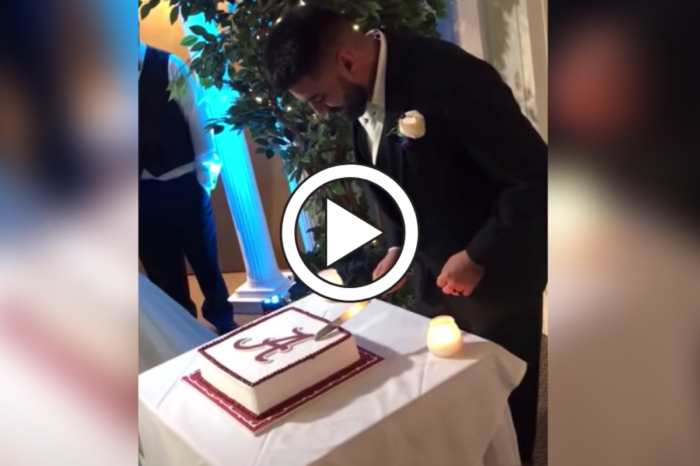 LSU Bride Pranks Alabama Groom With Wedding Cake Surprise