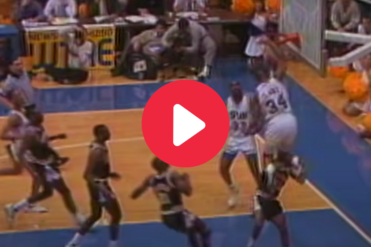 """Send It In, Jerome!"" is College Basketball's Greatest Dunk"