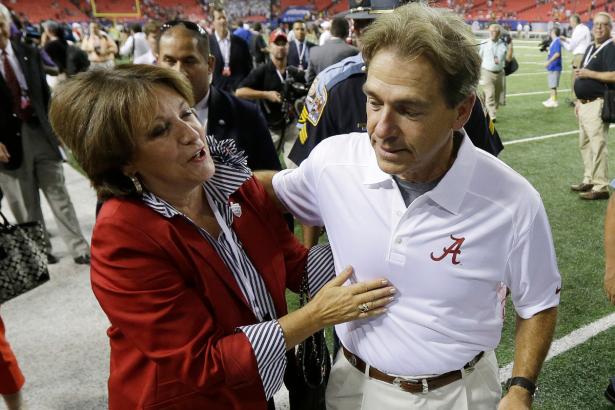 Nick Saban's Wife is the Secret to Alabama's Dynasty