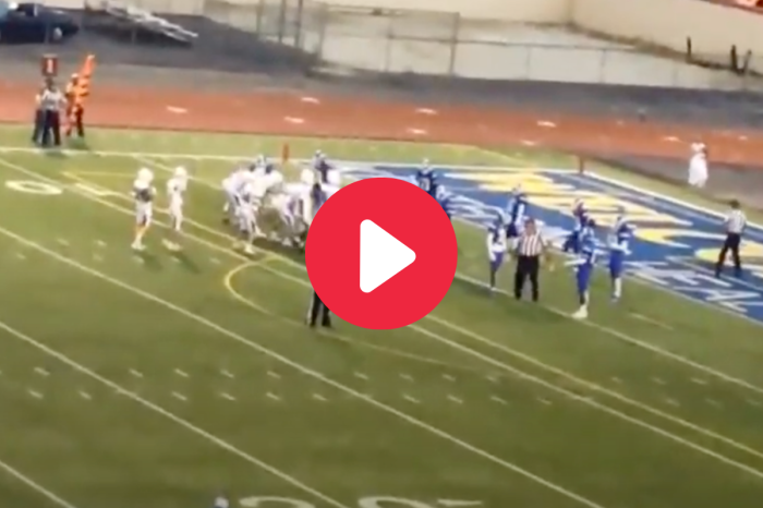 HS Football Player Head-Butts Official, Game Ends Before Halftime