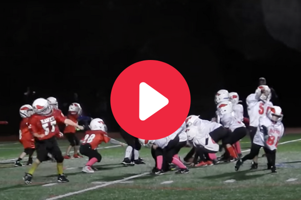 Pee Wee Football Players Break Into Dance, Become a Viral Hit
