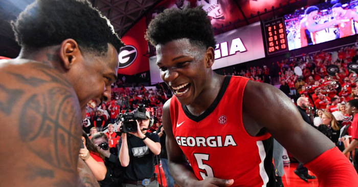 UGA's Anthony Edwards Named SEC Freshman of the Year