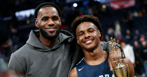 The Bronny James Hype Train is Building Steam