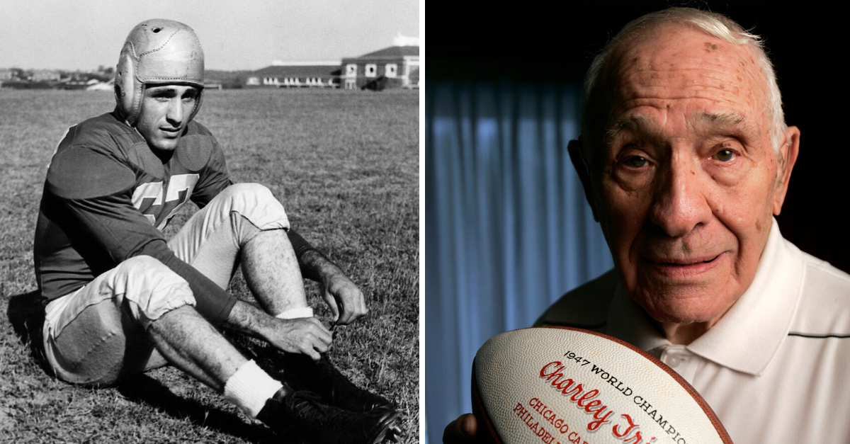 Charley Trippi Served in WWII, Then Became Georgia's All-American