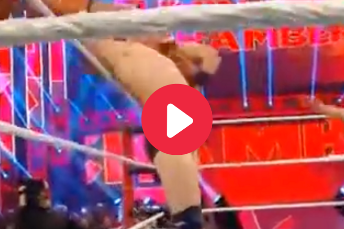 Daniel Bryan Suffers Wardrobe Malfunction at Elimination Chamber