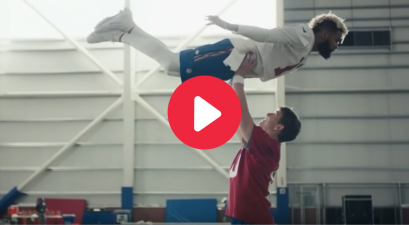 """Dirty Dancing"" Commercial With Eli Manning and OBJ is a Treat"