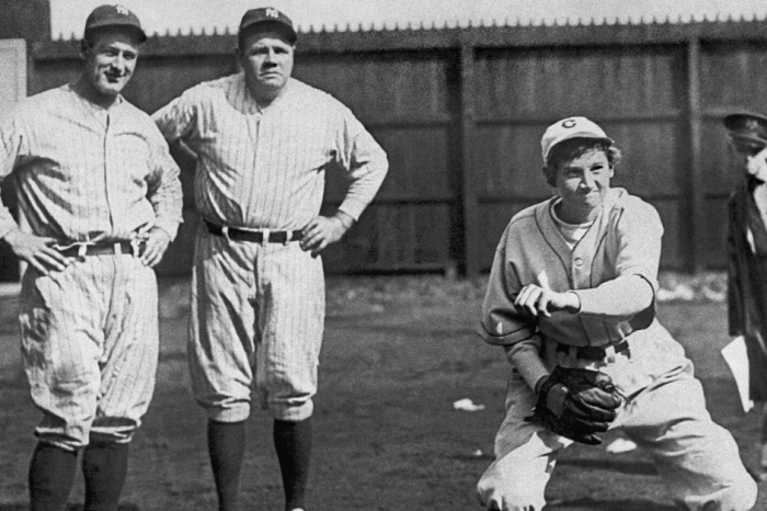 The Girl Who Struck Out Babe Ruth and Lou Gehrig