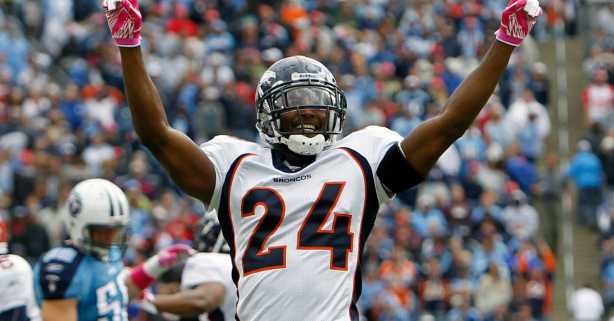 Champ Bailey's Son Wants to Be Better Than His Dad
