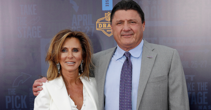 Kelly & Ed Orgeron Divorcing After 23 Years of Marriage