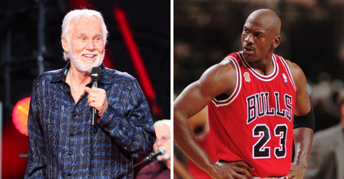 Kenny Rogers Faked Michael Jordan Out of His Shoes in 1988 Charity Game