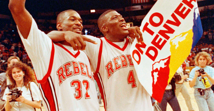 30 Years Ago, The Runnin' Rebels Were Kings of College Basketball