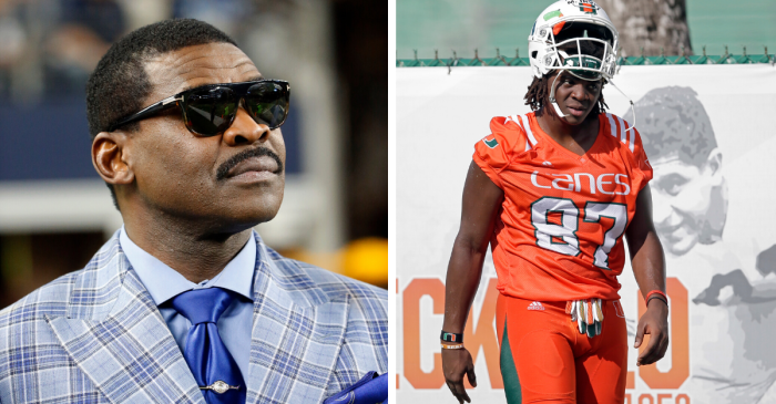 Michael Irvin's Son Reportedly Transferring from Miami