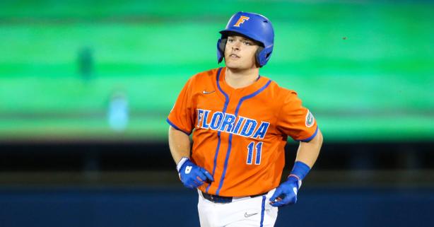 Florida's Freshman Catcher Can't Stop Hitting Home Runs
