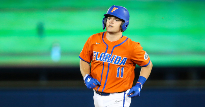 Florida's Freshman Catcher Can't Stop Hitting Home Runs