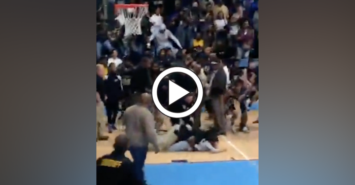 High School Basketball Fight Ends With Pepper Spray