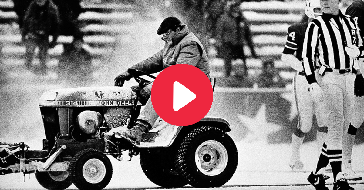 "The ""Snowplow Game"" Kickstarted the Patriots' Cheating Ways"