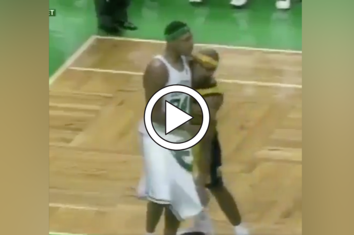 Ron Artest Pulled Down Paul Pierce's Pants Mid-Game. It Didn't Work.