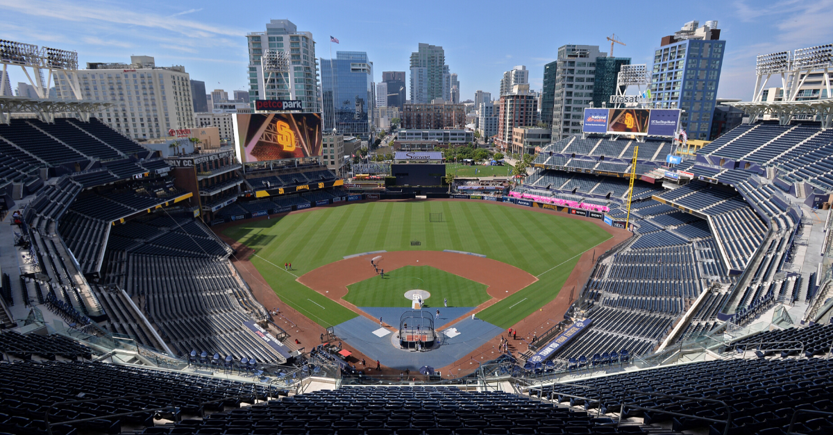"""""""God Bless America"""" Played at Empty Ballpark to Honor MLB's Opening Day"""
