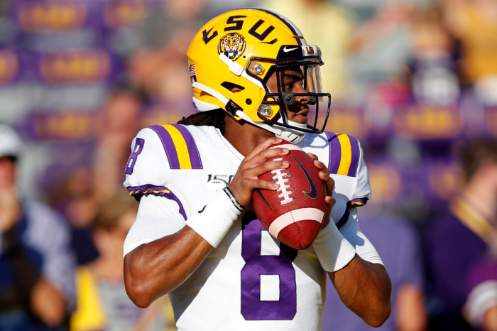 LSU QB Suspended Indefinitely by Coach Orgeron