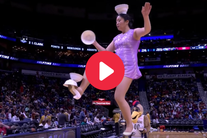 Red Panda is Basketball's Can't-Miss Halftime Show
