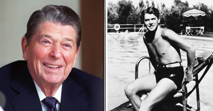 Ronald Reagan Was a Cheerleader Before Becoming President