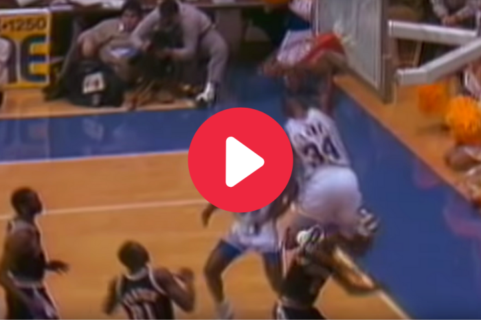 """Send It In, Jerome!"": College Basketball's Greatest Dunk, 32 Years Later"