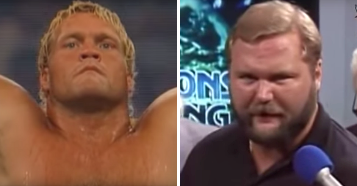 The Brutal Scissor Fight: Sid Vicious vs. Arn Anderson