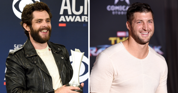Thomas Rhett Reveals How Tim Tebow Inspires His Life & Career