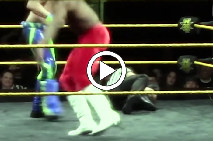 WWE Referee Returns to Ring After Gruesome Leg Injury